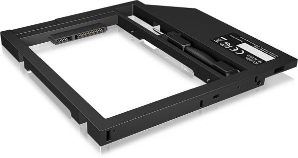 """RAIDSONIC ICY BOX Adapter für 2,5"""" HDD/SSD in Notebook DVD-Schacht"""