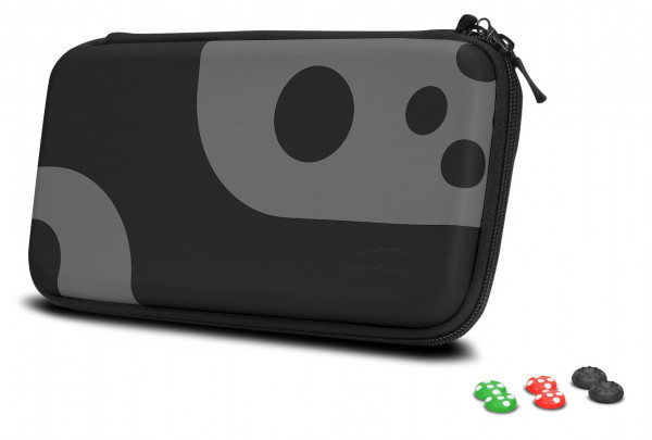 SPEEDLINK CADDY & STIX Protect & Control Kit Transporttasche- for Nintendo Switch Black-Grey