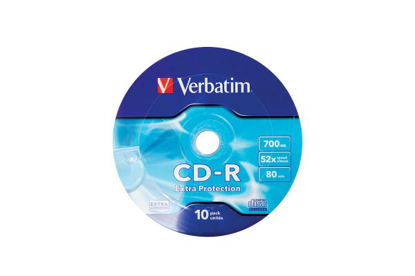 VERBATIM CD-R 700MB 52x 10er Wrap