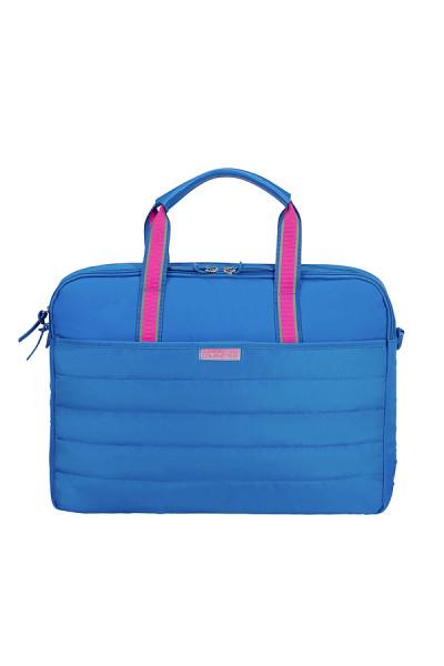 SAMSONITE 15,6 AT UPTOWN VIBES Laptop Bag, blue-pink