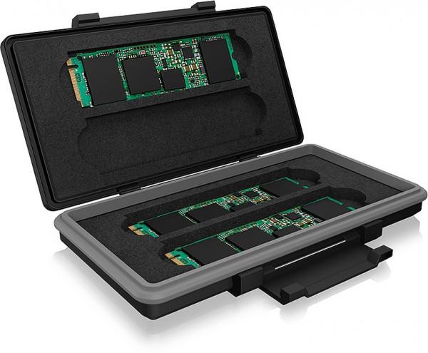RAIDSONIC ICY BOX Schutzbox für 4x M.2 SSDs bis zu 80 mm Länge