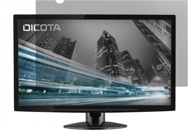DICOTA 23 Screen Overlay (16:9) Secret 2-Way, side-mounted