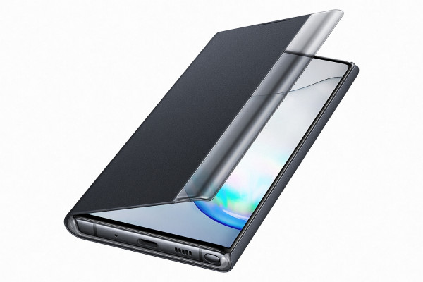 SAMSUNG MOBILE Note10 Clear View Cover black