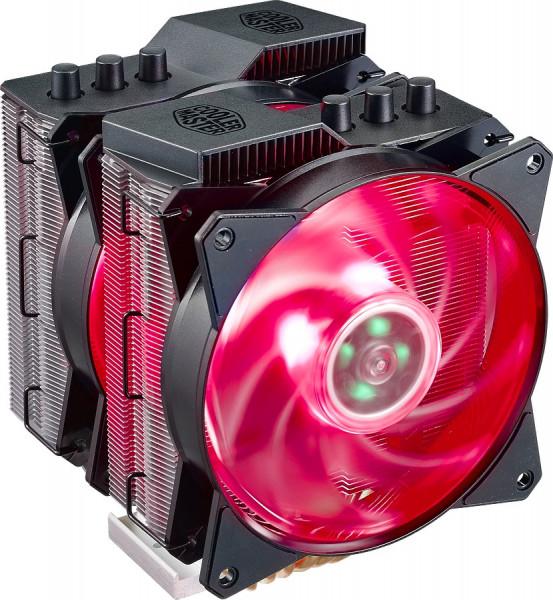 COOLER MASTER 6 HP, Dual tower, Dual RGB fan, 1800 rpm PWM