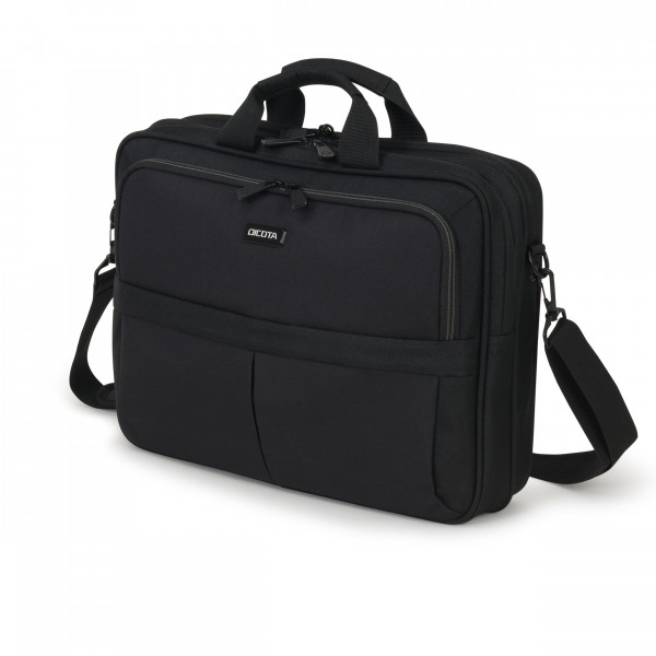 DICOTA 14,1 Eco Top Traveller Scale Notebooktasche, black