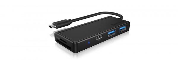 RAIDSONIC USB 3.0 Type-C® Hub & Kartenleser