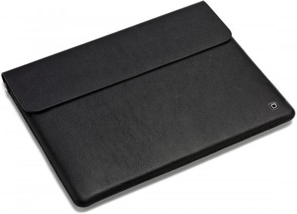 DICOTA 10 Leather Notebooksleeve, black