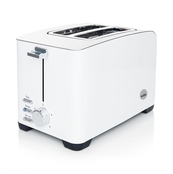 WILFA Toaster FROKOST, 5 Bräunungsstufen, 800 Watt, TO-1W, weiß