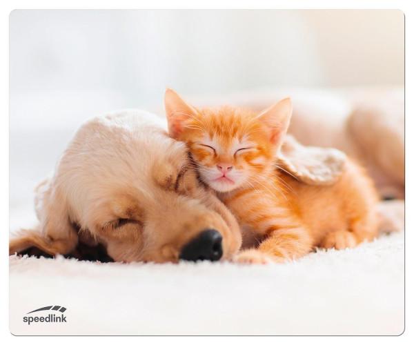 SPEEDLINK SILK Mousepad, Dog & Cat