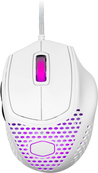 COOLER MASTER MM720/Wired Mouse/3389/Matte White