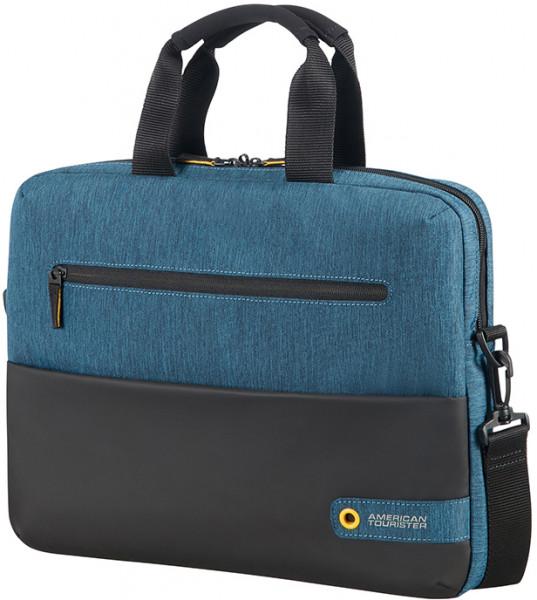 SAMSONITE 14,1 AT CITYDRIFT Laptop Bag, black-blue