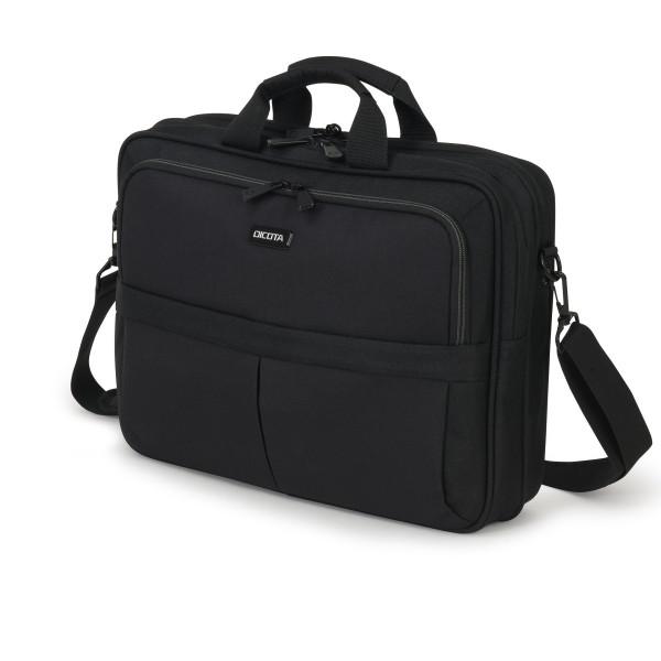 DICOTA 15,6 Eco Top Traveller Scale Notebooktasche, black