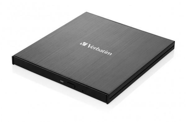 VERBATIM ext. Slimline USB 3.1 Ultra HD 4K Blu-ray Writer USB-C