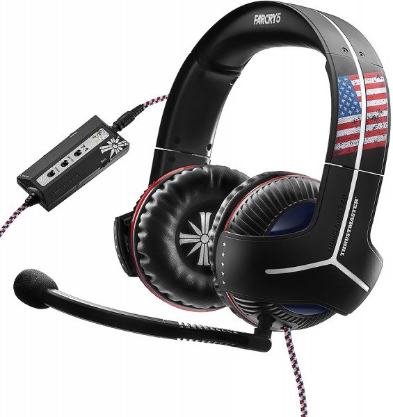 THRUSTMASTER Gaming Headset Y-350CPX 7.1 Multiplattform FarCry Edition
