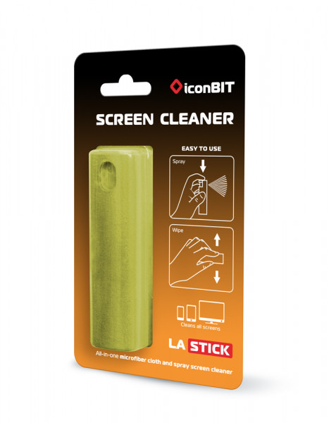 ICONBIT LA Stick - All-In-One Screen Cleaner for Smartphones, green