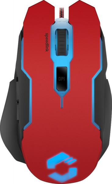 SPEEDLINK CONTUS Gaming Mouse, black-red
