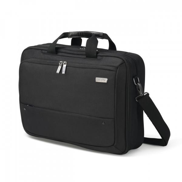 DICOTA 15,6 Eco Top Traveller Dual Select Notebooktasche, black