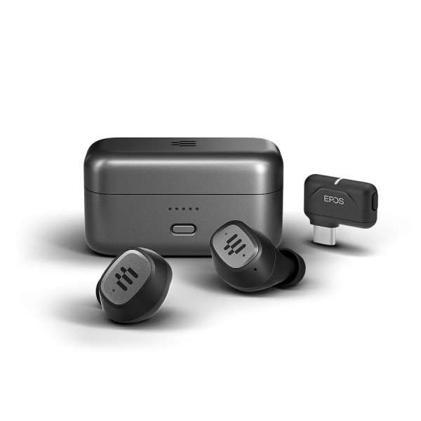 EPOS GTW 270 Hybrid - True Wireless Earbuds mit USB-C Dongle