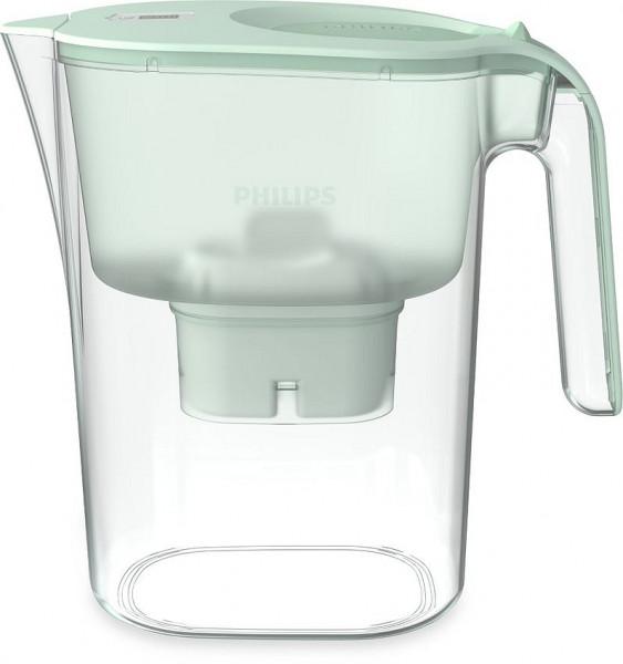 PHILIPS AQUA Wasserfilterkaraffe Mayflower 2,6 L, grün
