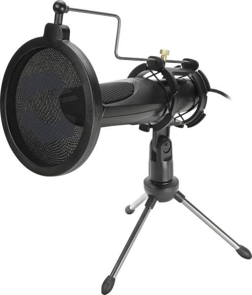 SPEEDLINK AUDIS Streaming Microphone, black