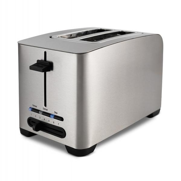 WILFA Toaster MORGEN, 5 Bräunungsstufen, 800 Watt, TO-1S, edelstahl