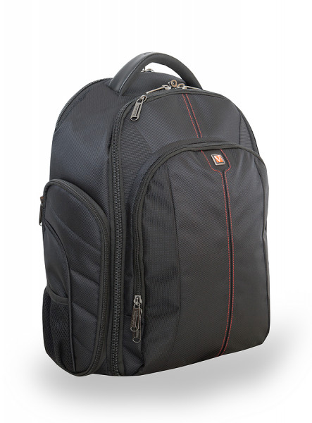 VERBATIM 16 Melbourne Notebook/Camera Backpack, schwarz