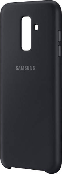 SAMSUNG MOBILE A6+ Dual Layer Cover black