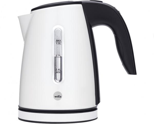 WILFA Wasserkocher, 1.0 L, WK2GW-1500, weiß