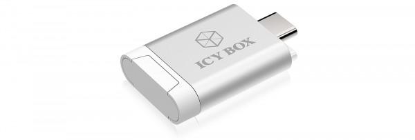 RAIDSONIC ICY BOX MicroSD-SDHC Kartenleser mit USB-C Hostanschluss