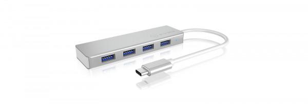 RAIDSONIC ICY BOX 4 Port USB 3.0 Type-C Hub