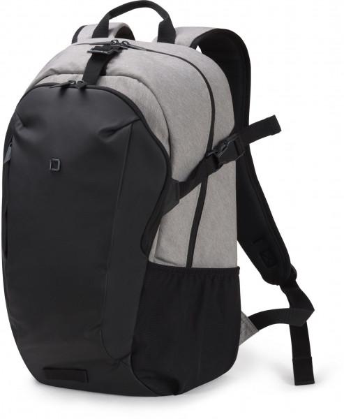 DICOTA Backpack GO 13-15.6, light grey