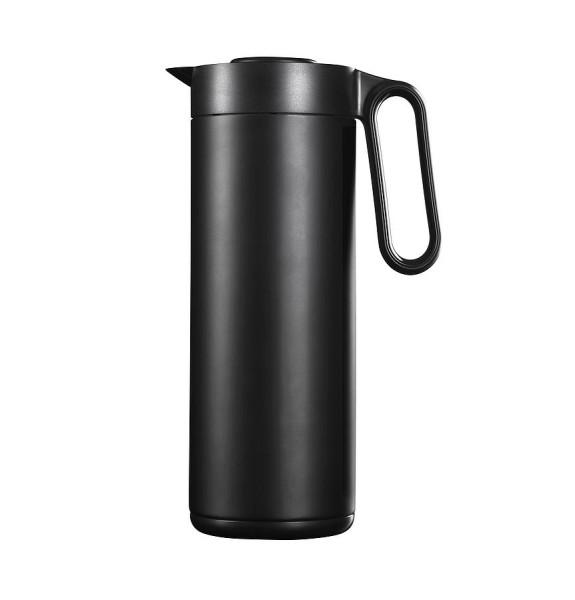 WILFA Thermoskanne SOCIAL, 1 Liter, WST-1000B, schwarz