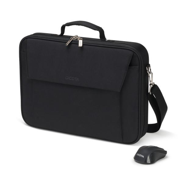 DICOTA 15,6 Notebooktasche inkl. Multi Wireless Mouse Kit, black