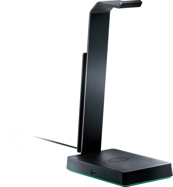 COOLER MASTER Headset Stand with USB 3.0 and Qi