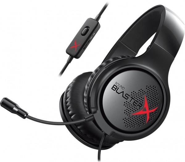 CREATIVE SB X H3 Gaming Headset Kopfhörer für PC, PS4 und XBOX One
