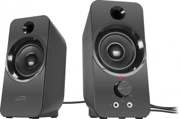 SPEEDLINK DAROC Stereo Speaker, black